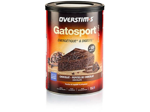 OVERSTIM.s Gatosport Préparation gâteau 400g, Chocolate